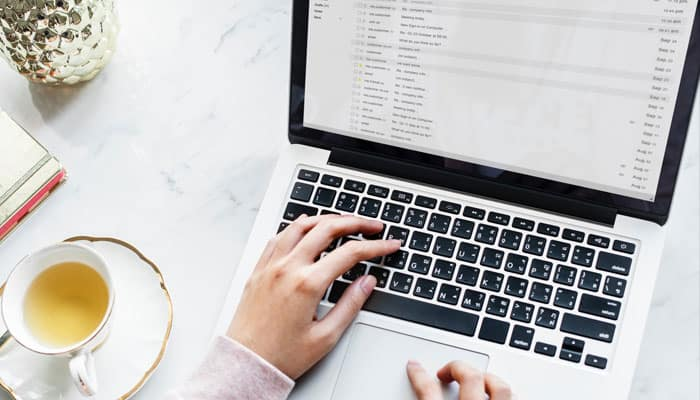 Email Marketing, Laptop, Information
