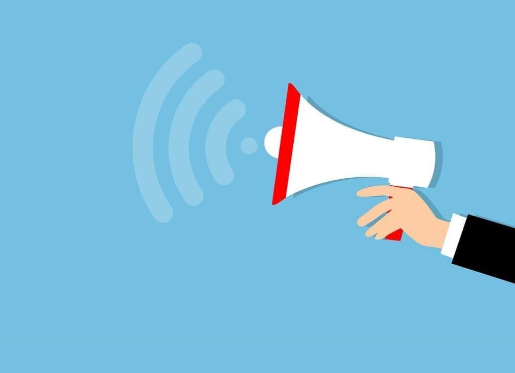 marketing, megaphone, advertisement