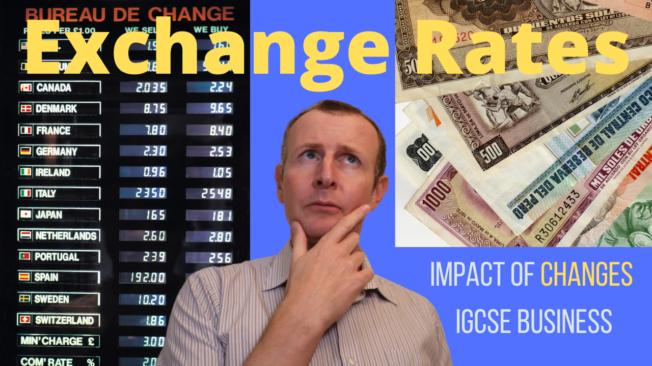 How do exchange rates impact business?