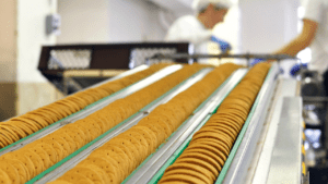 Cookie Production example, knowledge point, flow of production, IGCSE Business